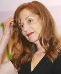 Isabelle Huppert at a press preview to promote a photo exhibition