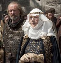 William Hurt as William Marshall and Eileen Atkins as Queen Eleanor of Aquitaine in