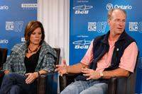 William Hurt and Marcia Gay Harden at the