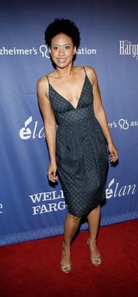 Tracie Thoms at the Alzheimers Associations 15th Annual A Night at Sardis benefit event.