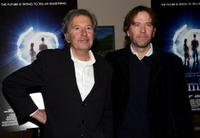 Timothy Hutton and Bob Shaye at the premiere of