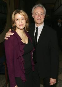 Linda Emond and Brent Spiner at the Roundabout Theatre Company's Spring Gala 2006.