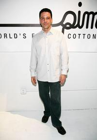 David Alan Basche at the opening of the Supima Pop Up Store.