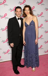 David Alan Basche and his wife Alysia Reiner at the Breast Cancer Foundations Hottest Pink Party.