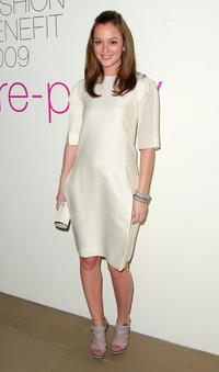 Leighton Meester at the Parsons Fashion Benefit 2009 Pre-Party.