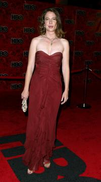 Robin Weigert at the HBO's post Emmy party during the 56th annual primetime Emmy Awards.