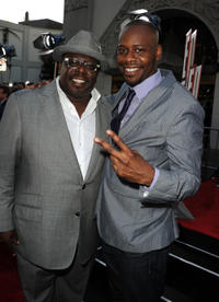 Cedric and Malcolm Barrett at the California premiere of