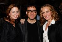 Jenna Fischer, Fred Armisen and Melora Hardin at the after party of the Gen Art Screening of
