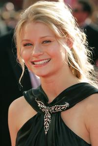 Emilie de Ravin at the 57th Annual Emmy Awards.