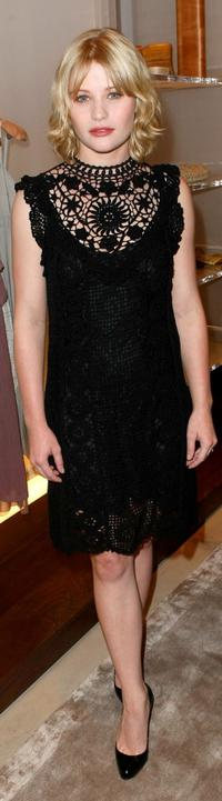 Emilie de Ravin at the Ports 1961 Los Angeles store opening.