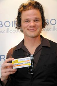 Evan Jones at the Luxury Lounge in honor of the 2008 SAG Awards.