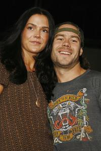 Claire and Chris Pontius at the premiere