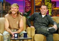 Chris Pontius and Steve O at the