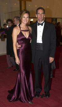 Chelsea Field and Scott Bakula at the Kennedy Center Honors.