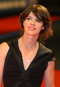 Irene Jacob at the 64th Venice Film Festival, attends the premiere of