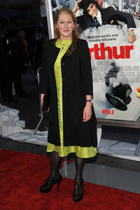 Geraldine James at the New York premiere of