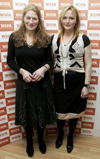 Geraldine James and Miranda Richardson at the Celebs Stand Up For Animals performance.