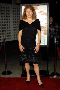 Geraldine James at the premiere of