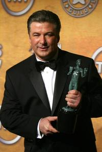 Alec Baldwin at the 13th Annual Screen Actors Guild Awards.