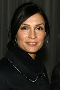 Famke Janssen at the private screening of