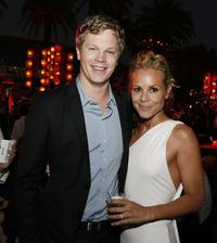 Luke Ford and Maria Bello at the after party of the premiere of