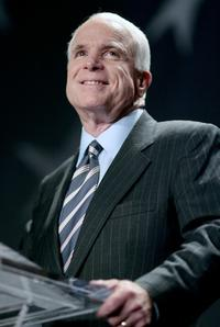 John McCain at the national convention of the League of United Latin American Citizens.