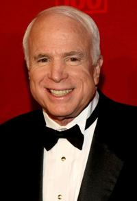 John McCain at the TIME's 100 Most Influential People Gala.