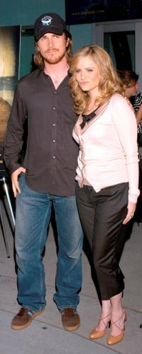 Christian Bale and Jennifer Jason Leigh at the Variety Screening Series of