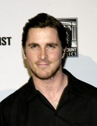 Christian Bale at the premiere of