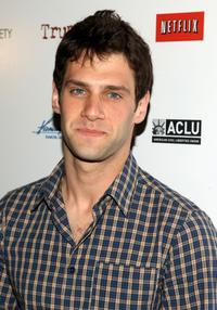 Justin Bartha at the screening of