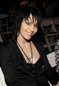 Joan Jett at the Nicole Miller Fall 2008 fashion show during the Mercedes-Benz Fashion Week.