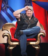 Larry the Cable Guy at the Comedy Central roast of Larry The Cable Guy.