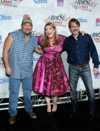 Larry the Cable Guy, Lisa Lampanelli and Jeff Foxworthy at the Comedy Central Roast of Larry The Cable Guy.