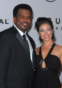 Craig Robinson and Guest at the after party of NBC, Universal Pictures And Focus Features Golden Globes.