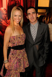 Lauren Bowles and Patrick Fischler at the Season 4 California premiere of