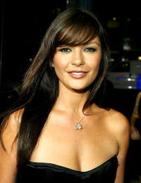 Catherine Zeta-Jones at the 'Intolerable Cruelty' premiere.