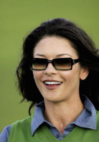 Catherine Zeta-Jones at The Nearest to the Pin Charity Challenge