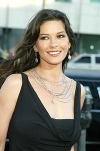 Catherine Zeta-Jones at the premiere of