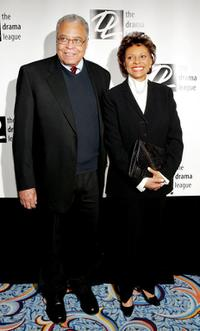James Earl Jones and Leslie Uggams at the 71st Annual Drama League Awards Luncheon.