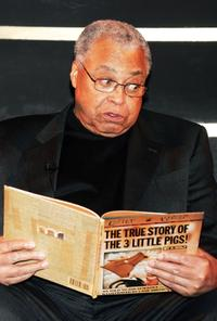 James Earl Jones at the annual YMCA Arts & Letters Auction and Reception at the Rainbow Room.