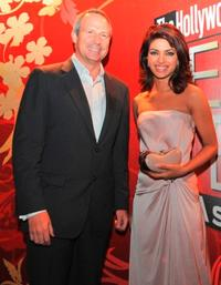 Director Eric Mika and Priyanka Chopra at the Hollywood Reporter Next Gen Asia Launch Cocktail Reception event.