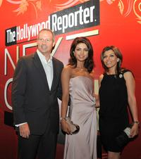 Director Eric Mika, Priyanka Chopra and Guest at the Hollywood Reporter Next Gen Asia Launch Cocktail Reception event.