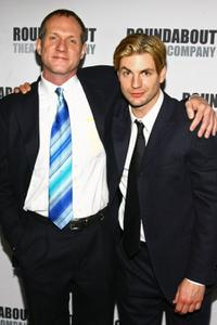Mark Brokaw and Gale Harold at the opening night of