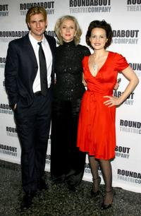 Gale Harold, Blythe Danner and Carla Gugino at the opening night of