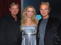 Kevin Williamson, Amber Heard and Taylor Handley at the premiere of