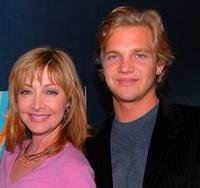 Sharon Lawrence and Taylor Handley at the premiere party of