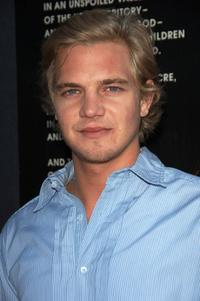Taylor Handley at the special VIP screening of