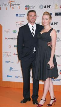 Chris William Martin and Guest at the Roma Fiction Fest 2008 Closing Ceremony and Diamond Awards.