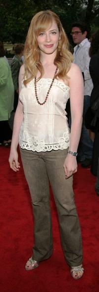 Jaime Ray Newman at the opening night of