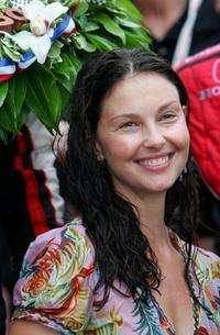 Ashley Judd at the 91st Indianapolis 500.